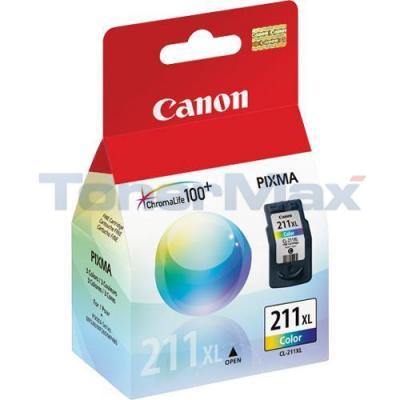 CANON CL-211XL INKJET CART COLOR HY